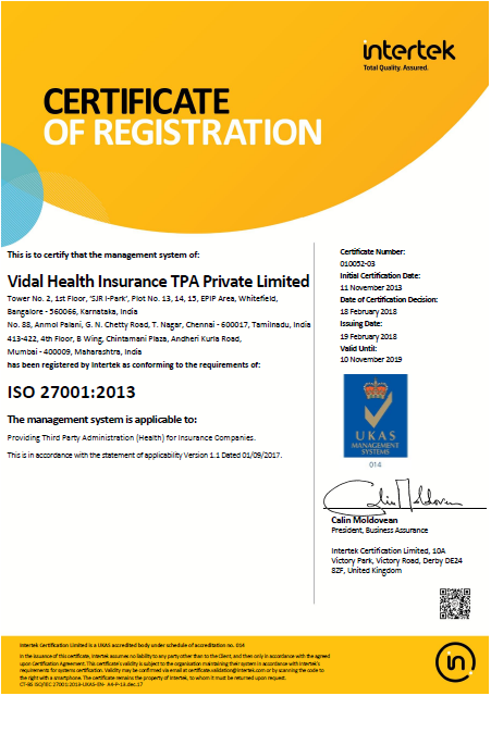 Quality standard certified organisation commited to provide quality service in health insurancewe are the first tpa in india to be commeded with the iso certification xflitez Image collections
